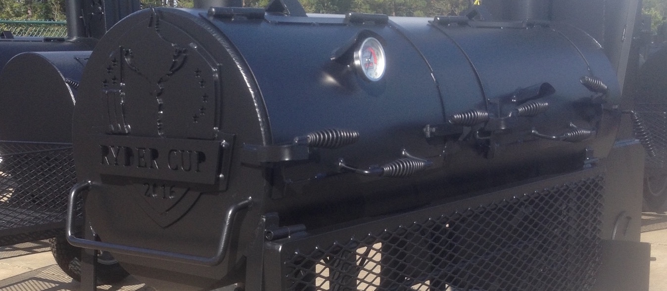 Smoker cooker customized for ryder cup