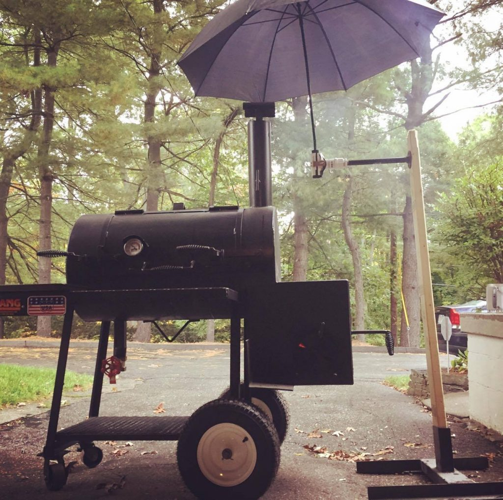 Brisket in the Rain by Jon K.