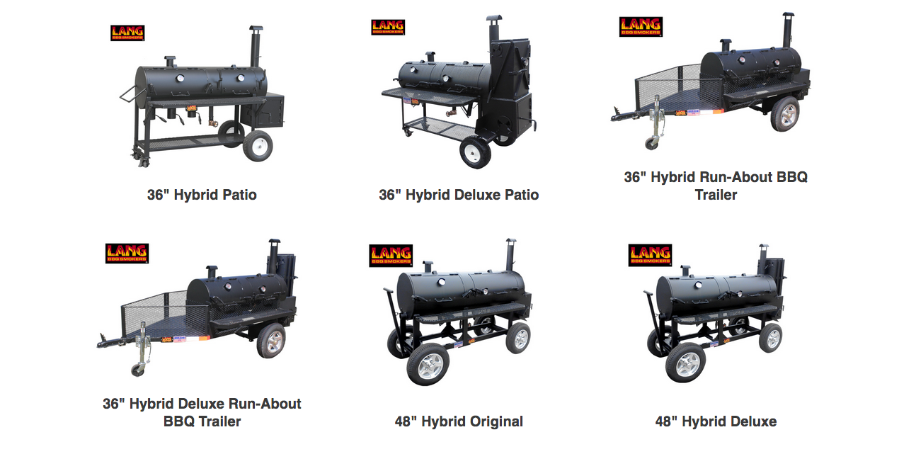 Showcasing Patio Hybrid Smoker Cookers