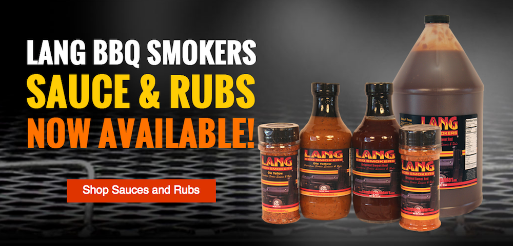 new Lang BBQ Smokers Rubs & Sauces