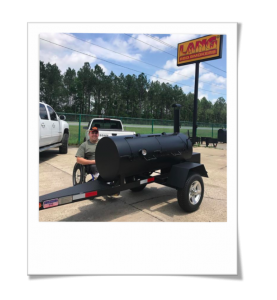 custom 60 Lang BBQ Smoker