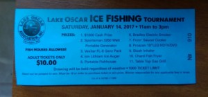 Lake Oscar Ice Fishing tournament