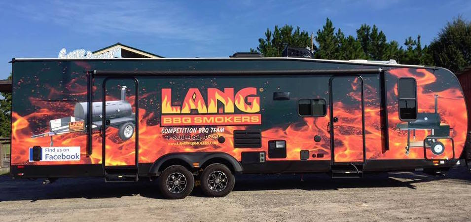Lang Bbq Competition Team Mobile Kitchen Trailer